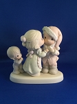 I Saw Mommy Kissing Santa Claus - Precious Moment Figurine