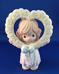 Give Your Whole Heart - Precious Moment Figurine
