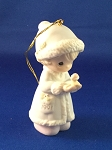 May Your Christmas Be Merry - Dated Annual 1991 Precious Moment Ornament