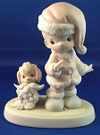 Wishing You A Ho Ho Ho - Precious Moment Figurine