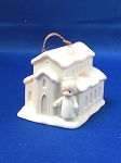 There's A Christian Welcome Here - Precious Moment Ornament