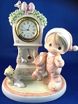 It's Almost Time For Santa - Precious Moment Figurine