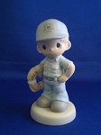 I'm Proud To Be An American  - Coast Guard - Precious Moment Figurine