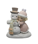 Snow Man Like My Man - Precious Moment Figurine