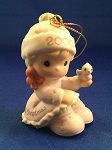 Baby's First Christmas 2000 (Girl) - Precious Moment Ornament
