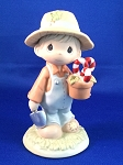 Raisin' Cane On The Holidays - Precious Moment Figurine