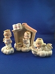 The Good Book Library - Precious Moment Figurine
