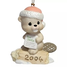 Bea-ver-y Good This Year - Dated Annual 2004 Precious Moment Ornament