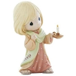 May Your Faith Light The Way - Precious Moment Figurine