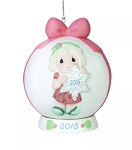 You Make The Season One Of A Kind - Dated Annual 2015 Precious Moment Ball Ornament