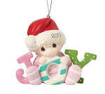 Baby's First Christmas 2019 (Girl) -  Precious Moment Ornament
