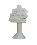 Street Sign - Precious Moment Figurine