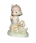 O, How I Love Jesus - Precious Moment Figurine