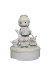 Let Heaven And Nature Sing (Musical) - Precious Moments Figurine