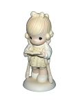 He Walks With Me - Precious Moment Figurine