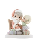 Wishing You Every Wonderful Thing That The Season Brings - Precious Moment Figurine
