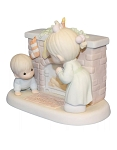 Waiting For A Merry Christmas - Precious Moment Figurine