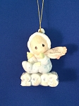 Baby's First Christmas 2003 (Boy) - Precious Moment Ornament