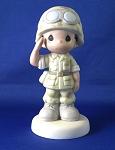 I'm Proud To Be An American  - Army - Precious Moment Figurine