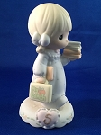 Growing in Grace Age 5 - Precious Moment Figurine
