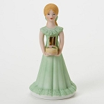 Enesco Growing Up Girls Blonde Age 11 Birthday Girl Figurine