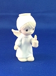 Oh Worship The Lord - Precious Moment Mini Figurine