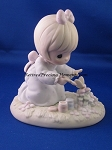 God Bless You For Touching My Life - Precious Moment Figurine