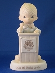 Let Us Call The Club To Order - Precious Moment Figurine