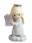 Growing in Grace It's a Girl - Precious Moment Figurine