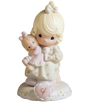 Growing in Grace Age 4 - Precious Moment Figurine