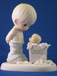 You Can't Just Chuck A Good Friendship - Precious Moment Figurine