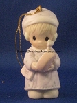 Time To Wish You A Merry Christmas - 1988 Precious Moment Ornament
