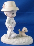 We Need A Good Friend Through The Ruff Times - Precious Moment Figurine