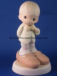Who's Gonna Fill Your Shoes - Precious Moment Figurine