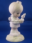 Wishing You A Happy Easter - Precious Moment Figurine