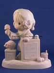 Wishing You A Yummy Christmas - Precious Moment Figurine