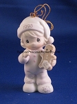 Wishing You The Sweetest Christmas - 1993 Precious Moment Ornament