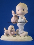 You Can't Run Away From God - Precious Moment Figurine