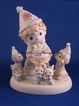 10 Wonderful Years Of Wishes - Precious Moment Figurine