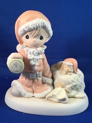 A Time To Wish You A Merry Christmas - Precious Moment Figurine