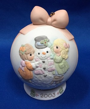 I-cy Potential In You - 2003 Precious Moment Ball Ornament
