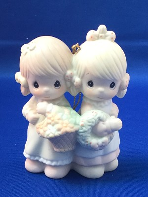 To My Forever Friend - Precious Moment Ornament