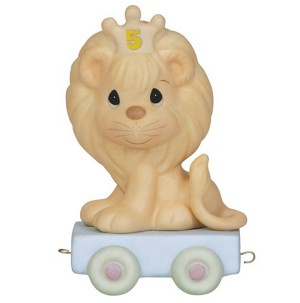 This Day Is Something To Roar About (Age 5) - Precious Moment Figurine
