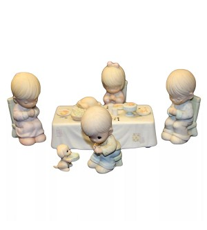 We Gather Together To Ask The Lord's Blessing - Precious Moment Figurines