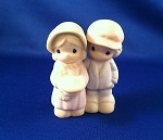 Aunt Bulah & Uncle Sam - Precious Moment Figurine