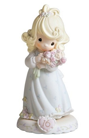 Growing in Grace Age 16 - Precious Moment Figurine