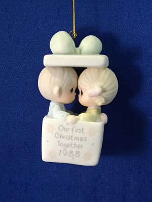 Our First Christmas Together 1988 - Precious Moment Ornament