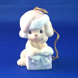 Christmas Is Ruff Without You - Dated Annual 1989 Precious Moment Ornament