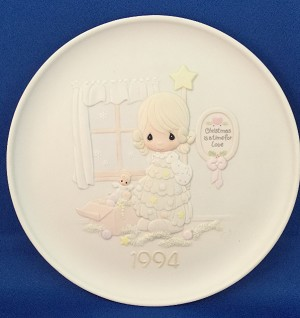 Cane You Join Us For A Merry Christmas - Precious Moment Plate