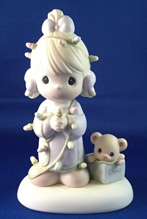 May Your Christmas Be Delightful - Precious Moment Figurine